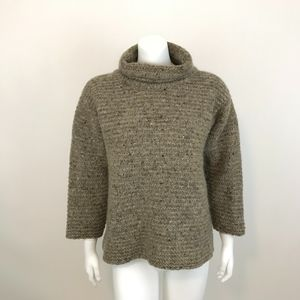 Heritage Turtleneck Sweater Made in Ireland M